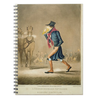 A Thoroughbred November & London Particular, engra Spiral Notebooks