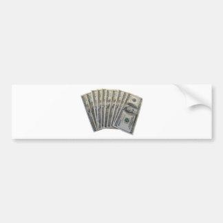 A Thousand Dollars Bumper Sticker