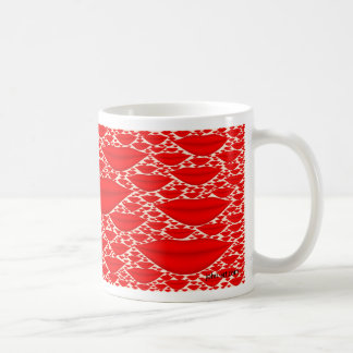 a thousand kisses basic white mug