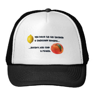 A Thousand Lemons to a Peach Cap