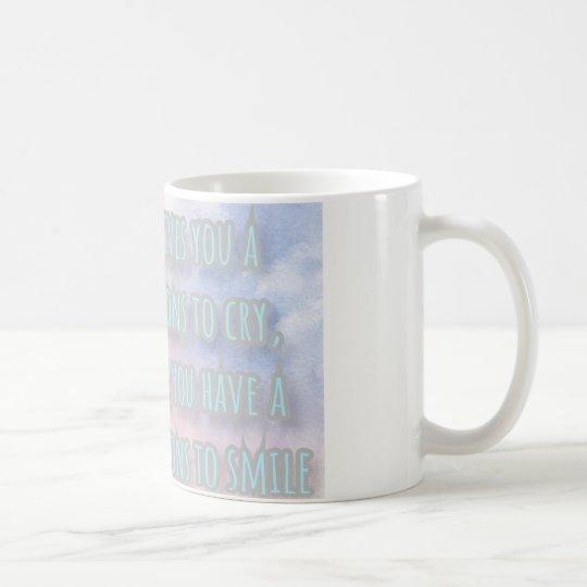 A thousand reasons to smile coffee mug