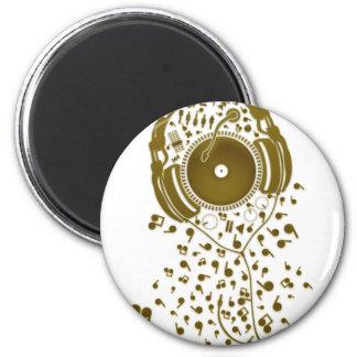 A_Thousand_Sounds 6 Cm Round Magnet
