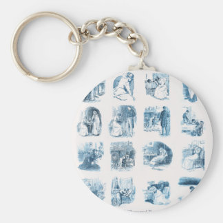 A Thousand Tears For You Basic Round Button Key Ring