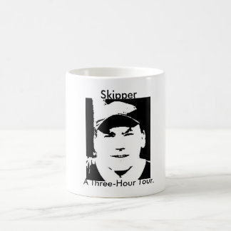 A Three-Hour Tour. Basic White Mug