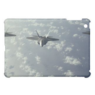 A three-ship formation of F-22 Raptors iPad Mini Cover