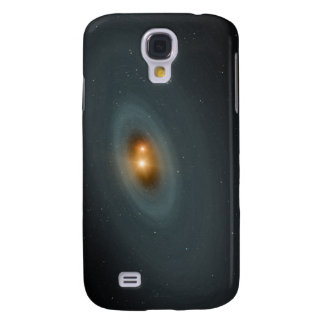 A tight pair of stars and a surrounding disk galaxy s4 case