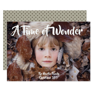 A Time of Wonder Card