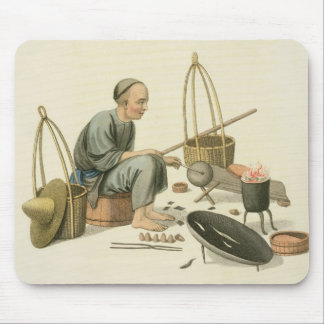 A Tinker, plate 37 from 'The Costume of China', en Mouse Mat