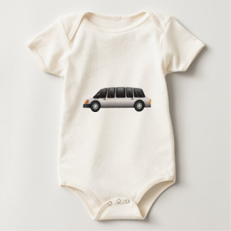 A tinted glass car baby bodysuit