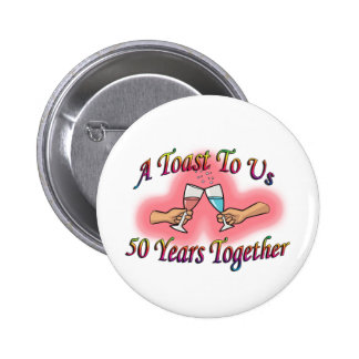 A Toast To Us 6 Cm Round Badge