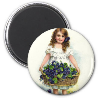 A Token of Affection Mother's Day 6 Cm Round Magnet