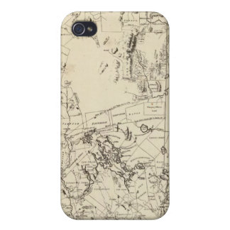A Topographical Map Covers For iPhone 4