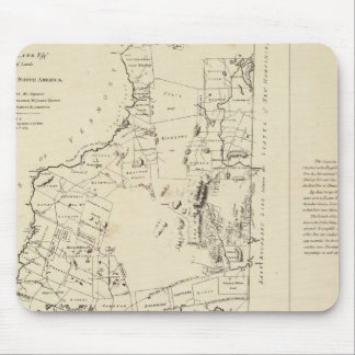 A Topographical Map Mouse Pads