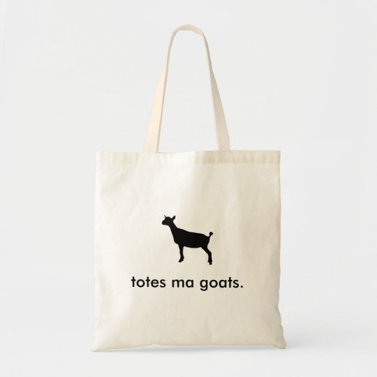 A totes ma goats Tote.