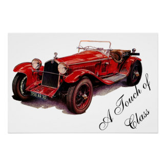 A TOUCH OF CLASS PREMIUM CANVAS GLOSS POSTER