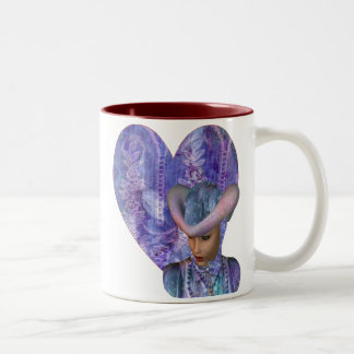A Touch of Lavender Two-Tone Mug