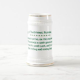 A Traditional Irish Blessing/St.Patrick's Day Beer Stein