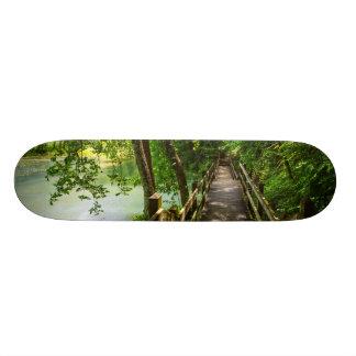 A Tranquil Hike 18.1 Cm Old School Skateboard Deck