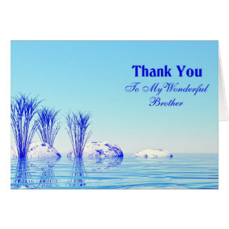 Thank You Brother Cards Amp Invitations Zazzle Co Uk