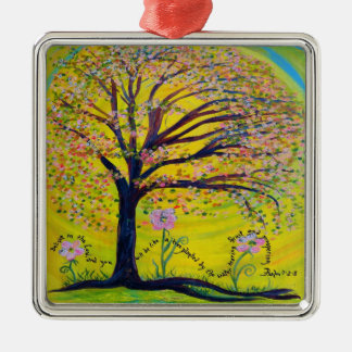 A Tree Planted by the Water Christmas Ornament