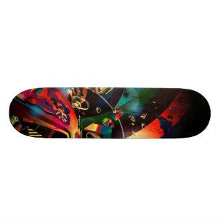 A Tribute 2 Music Custom Skate Board