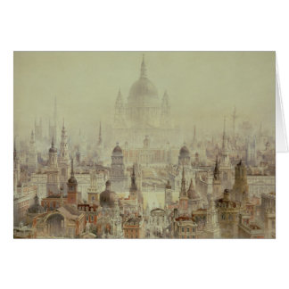 A Tribute to Sir Christopher Wren Greeting Card