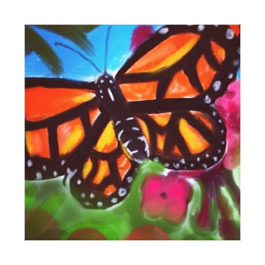 """A Trip Through the Garden Canvas Print (24"""" x 24"""")"""