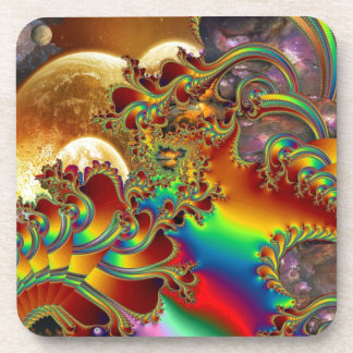 A Trip to Infinity Beverage Coasters