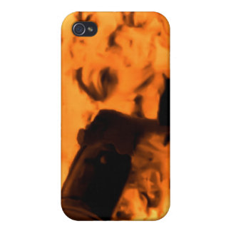 A Trip to the Moon (Blood Orange Sepia) Cover For iPhone 4