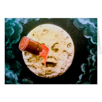 A Trip to the Moon Card