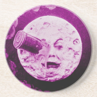 A Trip to the Moon Drink Coasters