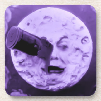 A Trip to the Moon Drink Coaster