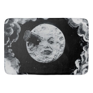 A Trip to the Moon French Silent Movie Classic Bath Mat