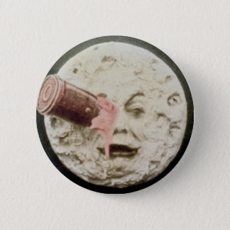 A Trip to the Moon Georges Melies Classic 6 Cm Round Badge