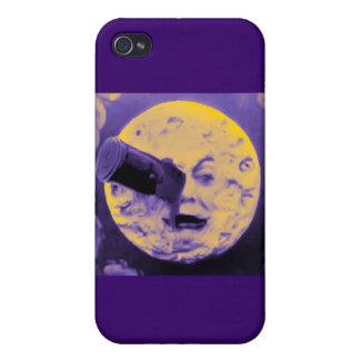 A Trip to the Moon Purple Fizzy Fuzz iPhone 4 Cover