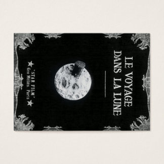 A Trip to the Moon Vintage Retro French Cinema