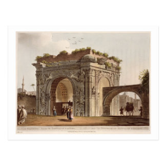 A Triumphal Arch of Tripoli in Barbary, plate 24 f Postcard