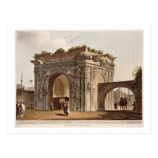 A Triumphal Arch of Tripoli in Barbary, plate