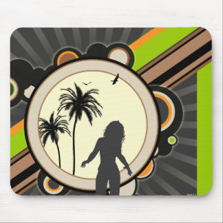 A Tropical Interest Mouse Pad