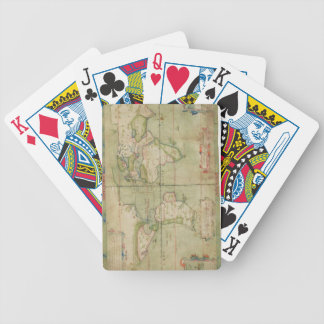 A True Description of the Naval Expedition of Fran Bicycle Playing Cards