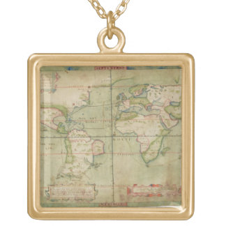A True Description of the Naval Expedition of Fran Gold Plated Necklace
