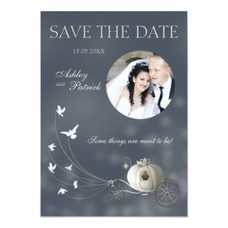 A True Fairy Tale Add Your Photo Wedding 13 Cm X 18 Cm Invitation Card