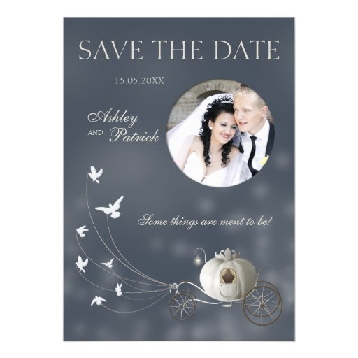 A True Fairy Tale Add Your Photo Wedding Invitations