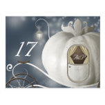 A True Fairy Tale Table Number Card Postcard
