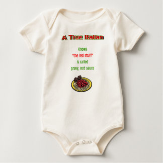 A True Italian Baby Bodysuit