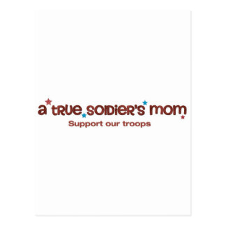 A true soldier s mom post card
