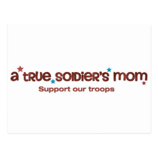A true soldier s mom post cards