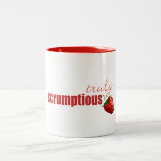 """A """"truly scrumptious"""" mug"""