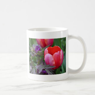 A Tulip And Other Leaves II Coffee Mugs