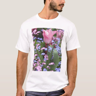 A tulip at Luxembourg Gardens, Paris, France T-Shirt